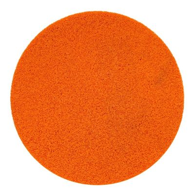 "Refina Velcro Sponge Disc Orange Fine 16"" - 550410"