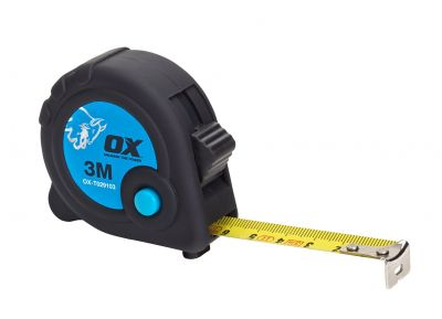 Ox Trade Tape Measure Metric Only 3m OX-T029103