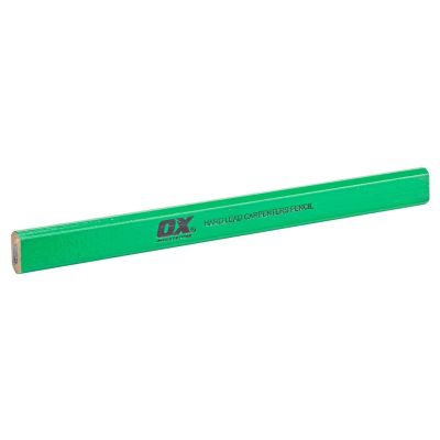 Ox Trade Carpenter's Pencils Hard Lead (Pack of 10) OX-T023010