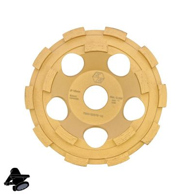 "Refina DX5-G15 Diamond Disc For Grinding Concrete & Hard Coatings 40 Grit 5"" - 315125"