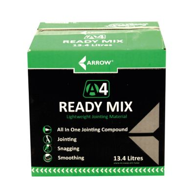 Arrow A4 Ready Mix Jointing Compound 13.4 Litres - A4