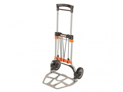 Bahco Folding Transport Trolley With Aluminium Tray Capacity 120kg - BAHTRUCK120