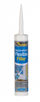 Everbuild Flexible Decorators Filler White 290ml - FLEX