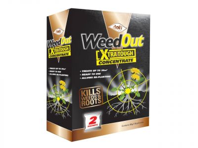 Doff WeedOut Xtra Tough Weedkiller Concentrate (Box of 2) - DOFFFC002DOF