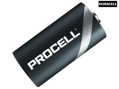 Duracell C Cell Procell Alkaline Batteries (Pack of 10) - DURPROC