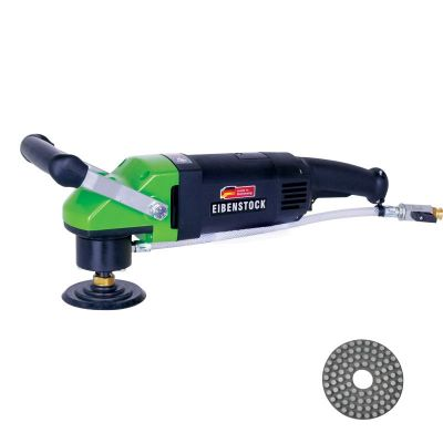 Refina EPN1800P Diamond Concrete Polisher + Resin Disc Kit 481382K