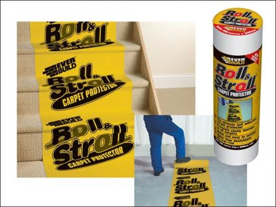 Everbuild Roll & Stroll Premium Carpet Protector 25m x 600mm - ROLL20