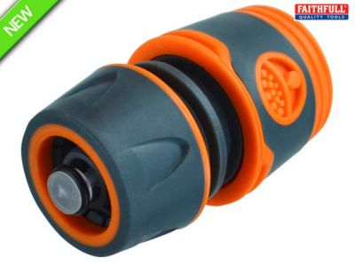 Plastic Water Stop Hose Connector 1-2in (box 30)