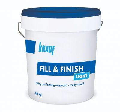 Knauf Fill & Finish Light Ready Mix 20kg - 00526511