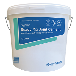 Gyproc Ready-Mix Joint Cement 12 Litres - 04291/1