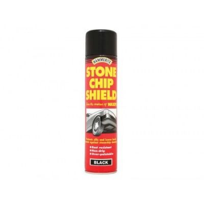 Hammerite Stonechip Shield Black Aerosol 600ml - HMMSCSBA600