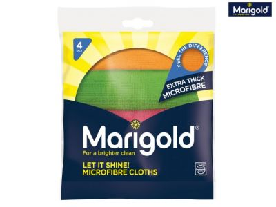 Marigold Let It Shine! Microfibre Cloths (Pack of 20) - MGD150442