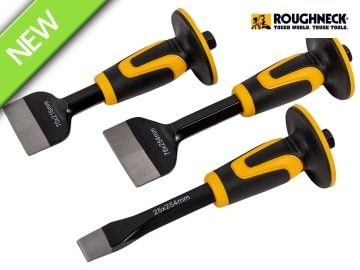 Chisel & Bolster Set, 3 Piece