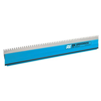Ox Speedskim Stainless Steel Notched Rendering Blade Only 600mm OX-P534360
