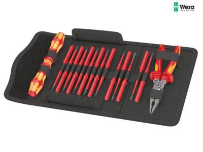 Wera Kraftform Kompakt VDE Extra Slim 1 Screwdriver Set (17 Pieces) - WER136027