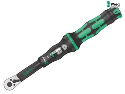 Wera Click-Torque A 6 Adjustable Torque Wrench 1/4in Hex Drive 2.5-25Nm WER075605