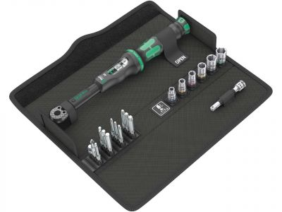 Wera Click-Torque A 6 Set 1 Adjustable Torque Wrench Set (Set of 20)