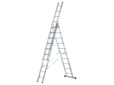 Zarges Skymaster Trade Combination Ladder 3-Part 3x9 Rungs - ZAR41539